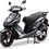 Bms MotorSport Prestige 150 Matt Black Color