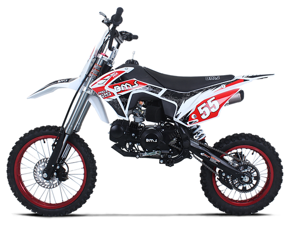 Bms MotorSport Pro X 125 Red Color
