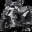 Bms MotorSports Cavalier 150 Silver Color