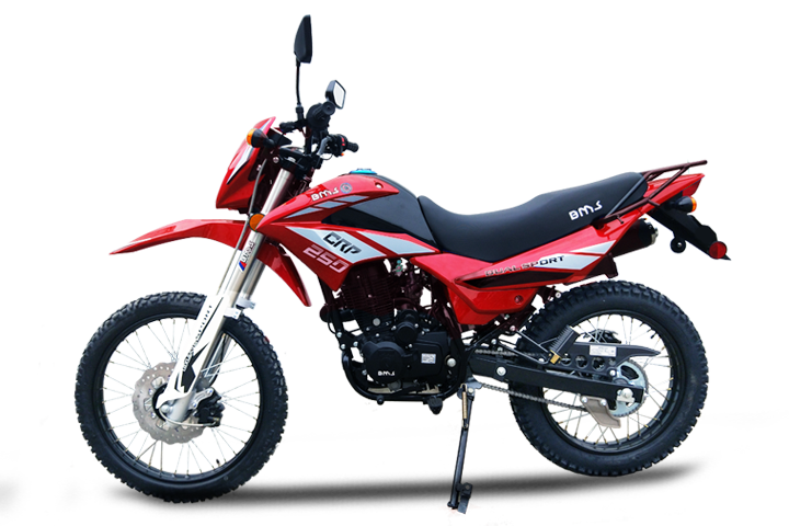 Bms MotorSports Enduro CRP 250 Red Color