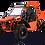 Bms MotorSports V-Twin Buggy 800 2S Orange Color