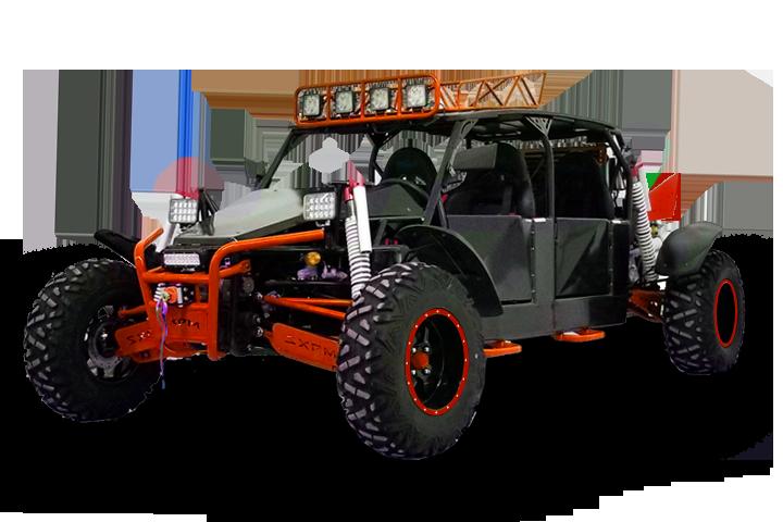 Bms MotorSports Sniper T-1500 4S Orange Color
