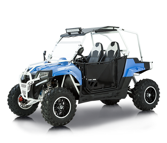 Bms MotorSports Sniper T-350 White Roll Cage Carbon Blue Body