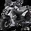 Bms MotorSports Cavalier 150 Shinny Silver Color