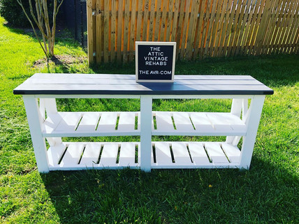 Custom Build Console Table $225