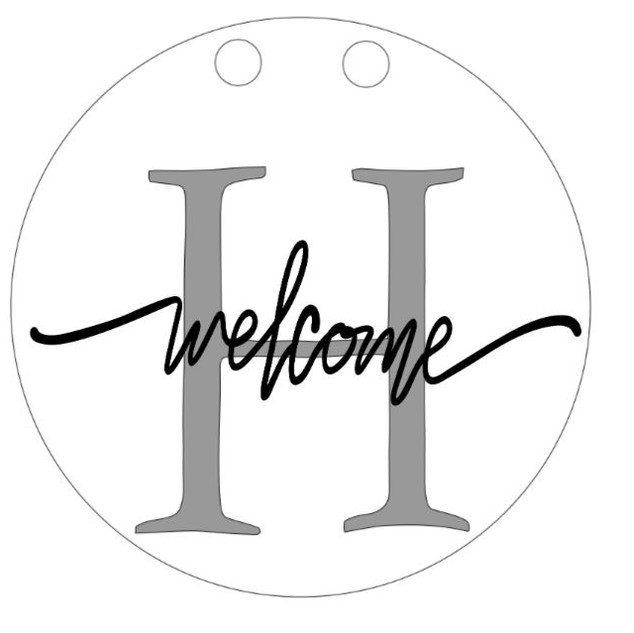 Initial_Welcome Sign
