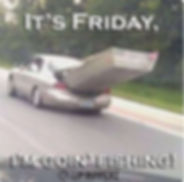 It's Friday, I'm going Fishing - Funny Fishing Picture