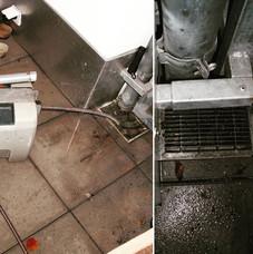 behebung einer Rohrverstopfung mit unserer Rohrreinigungsmaschine