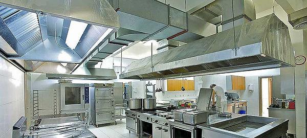 Küchen Dunstabzug, verschmutzt