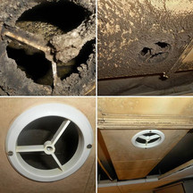 Cleaning a ventilation valve and Flex exhaust ducts