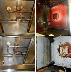 Grease removal in the kitchen extractor hood