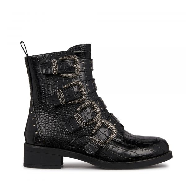 bottines-quadri