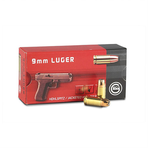Geco 9x19mm 124Gr FMJ (100Rds)