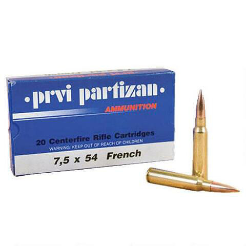 PPU 7.5 x 54mm 139Gr French (100Rds)