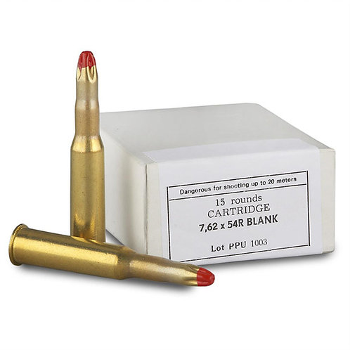 PPU 7.62x54R Blank (100 Rounds)