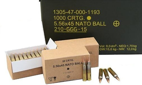 GGG 5.56x45 62Gn (100 Rounds)