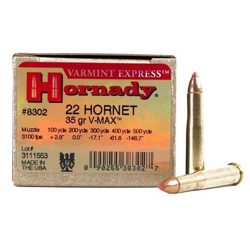 Hornady Varmint Express Ammunition 22 Hornet