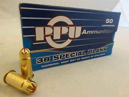 PPU .38 Special Blank (100 Rounds)