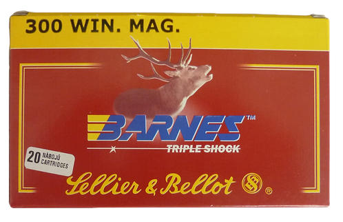 Sellier & Bellot .300 Win Mag (180Gn) Hollow Point (100 Rounds)