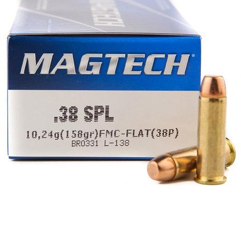 38 SPL FMJ-FLAT MAGTECH (100rds)