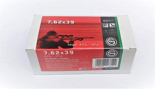 Geco 7.62x39 124Gn FMJ (100 Rounds)