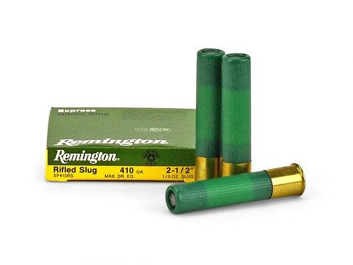 """Remington .410G Rifled Slug  2.5"""" (5 Rounds)"""