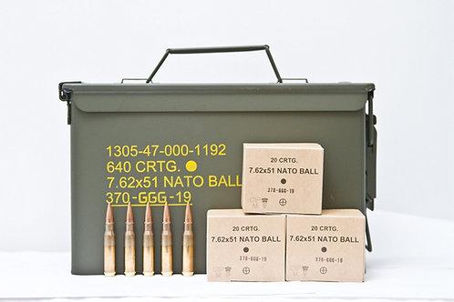 GGG 7.62x51mm 175Gr FMJ Match (100Rds)