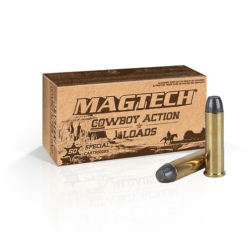 Magtech .38 Special 158Gn Flat Nose (100 Rounds)