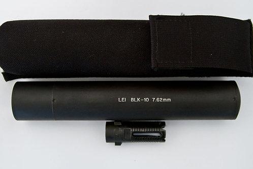 LAW ENFORCEMENT BLK-10 7.62mm Suppressor
