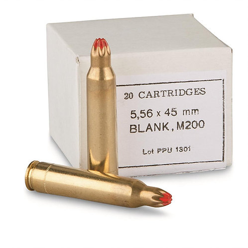 PPU 5.56x45mm Blank (100 Rounds)