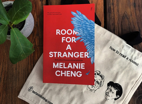 Book Club July Pick: Room for a Stranger, by Melanie Cheng