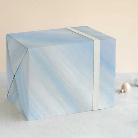 """""""Sheer Ice"""" Wrapping Paper available through Minted"""