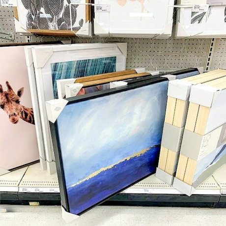 """""""Blue Abyss"""" Canvas Print In Store at Target (Fall 2020)"""