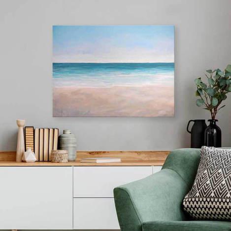 Beach Please Wall Art - GreenBox