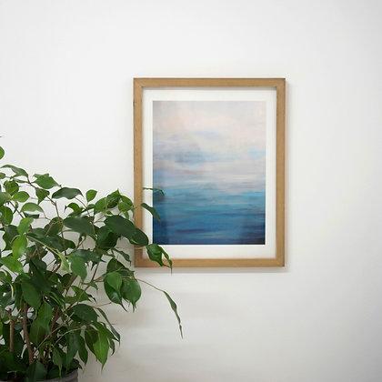 At Ease, Framed Fine Art Print