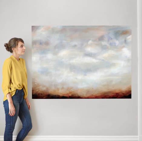 Sienna Haze - Minted Fine Art