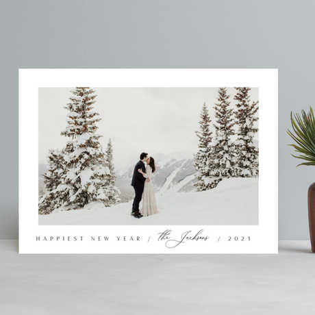 """""""Merry & Minimalist"""" Holiday Cards exclusive to Minted"""