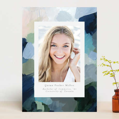 """""""Abstraction"""" Graduation Announcement Cards exclusive to Minted"""