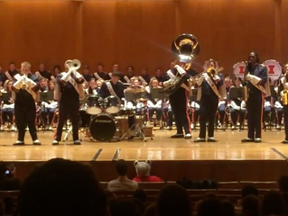 Sixth Street with the Marching Illini in Concert 11/15/15