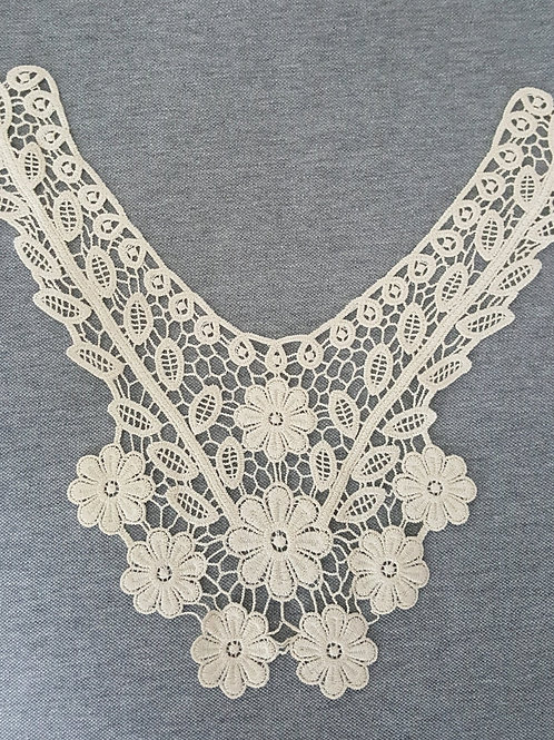 Yoke Lace on cotton