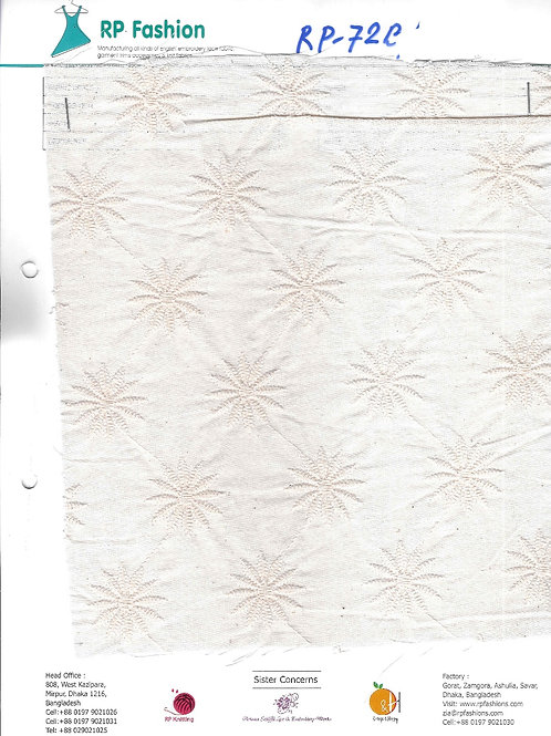 Chicken Embroidery lace fabric