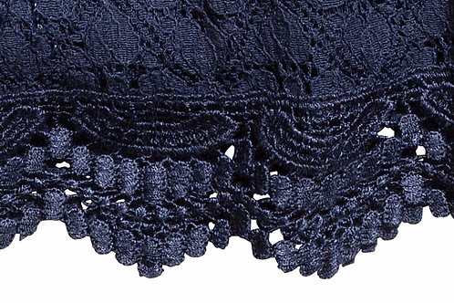 Water Soluble Lace trims Used in Lace Dress