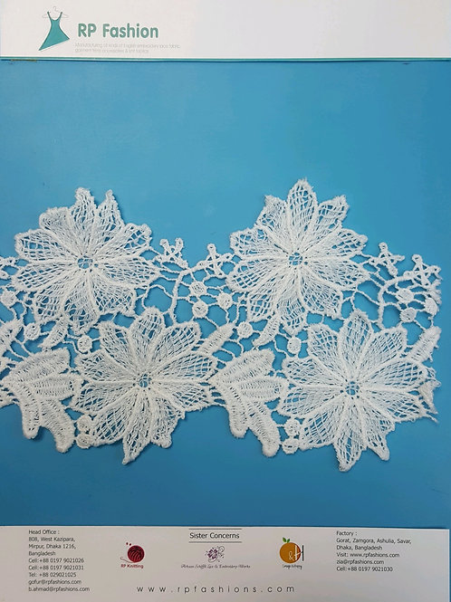 Floral Polyester lace
