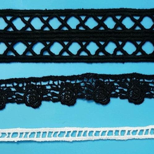 DTM Lace trims