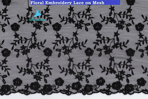 Mesh Embroidery Lace