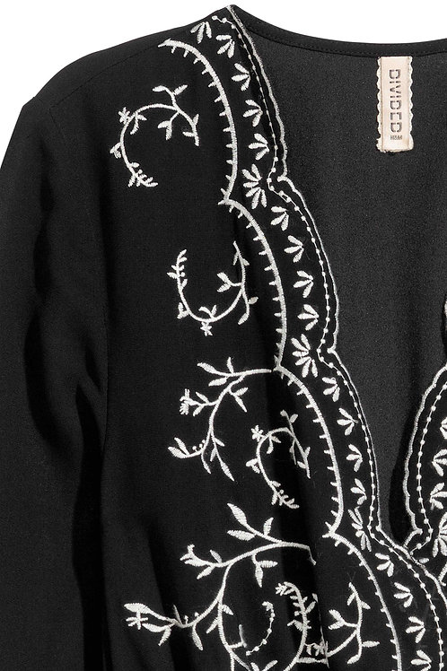 Scalloped Embroidered Lace Used in Dress