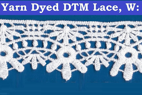 Floral Lace in Cotton Yarn