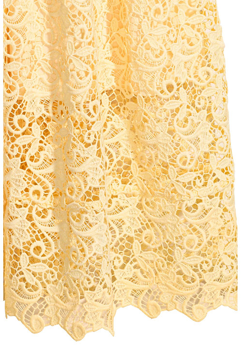 Polyester Lace used in Skirt
