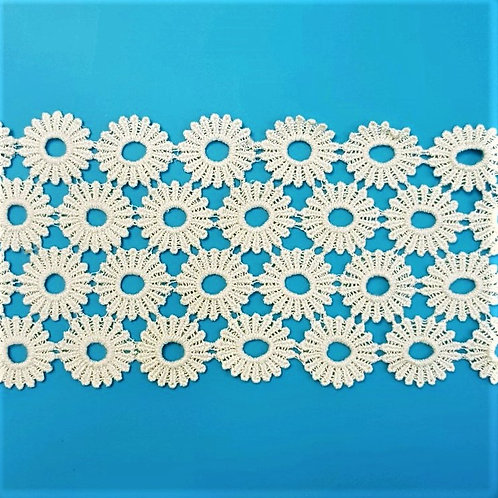 Floral Chemical Lace