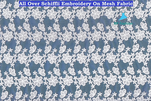 All Over Mesh Embroidery Lace